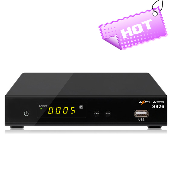 AZclass S926 twin tuner satellite tv receiver DVB-S2 receiver pk Azamerica S1001 HD receiver