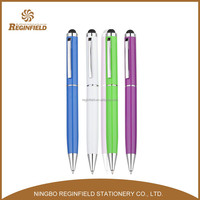 Fine appearance Touch metal pen, metal ball pen with touch function, metal touch pen