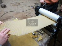 beeswax foundation embossing machines for beekeeping