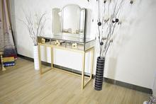 ZhaoHui Antique drawers mirrored dressing table with mirror