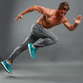high quality hot sale mens compress tights gym bodybuilding pants performance dry fit pants exercises fitness clothing