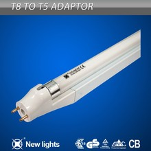 High CRI T5 Fluorescent Lighting T8 to T5 Lamp Holders