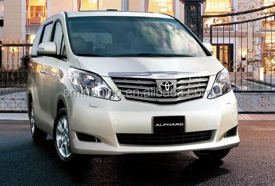 SMK DESIGN FOR 2008 ALPHARD TO UPGRADE 2015 MODEL BODY KIT,20 SERIERS UPGRADE 30 ,FRONT BUMPER ,SIDE PANEL ,REAR BUMPER ,GRILLE