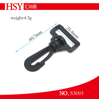 use for handbags luggages belts pet collars OEM hot sale plastic hook