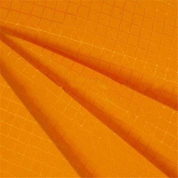 420D ripstop grid nylon pvc coated fabric