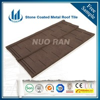Nuoran heat insulation tile Type and Building meterial corrugated metal roofing shingle