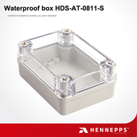 China IP66 Movable High Quality Outdoor Electrical Plastic Square Clear Box