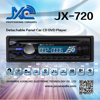 Pioneer style car cd player one din universal car dvd player JX-720