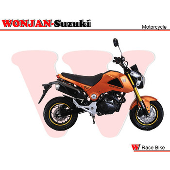 Race Bike (150cc) Wonjan-Suzuki engine, Motorcycle, , Motorbike, Autocycle,Gas or Diesel Motorcycle (WJ150-18 Orange)