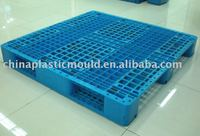 plastic pallet, perforated plate, steel tube reinforced pallet, 1200X1200X155