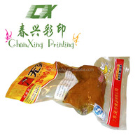 plastic printed vacuum bag for chicken drumstick