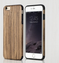 Luxury Natural Wooden Wood Bamboo Case For Apple iPhone 6/s/Plus 5/s Cover Shell