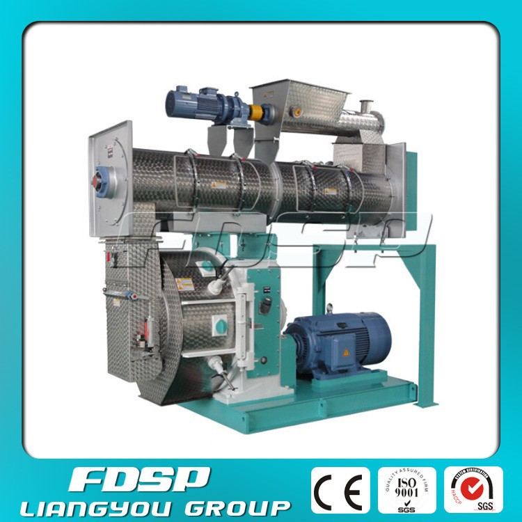 1-30T/H broiler/ chick/ bird/ feed pellet production machine