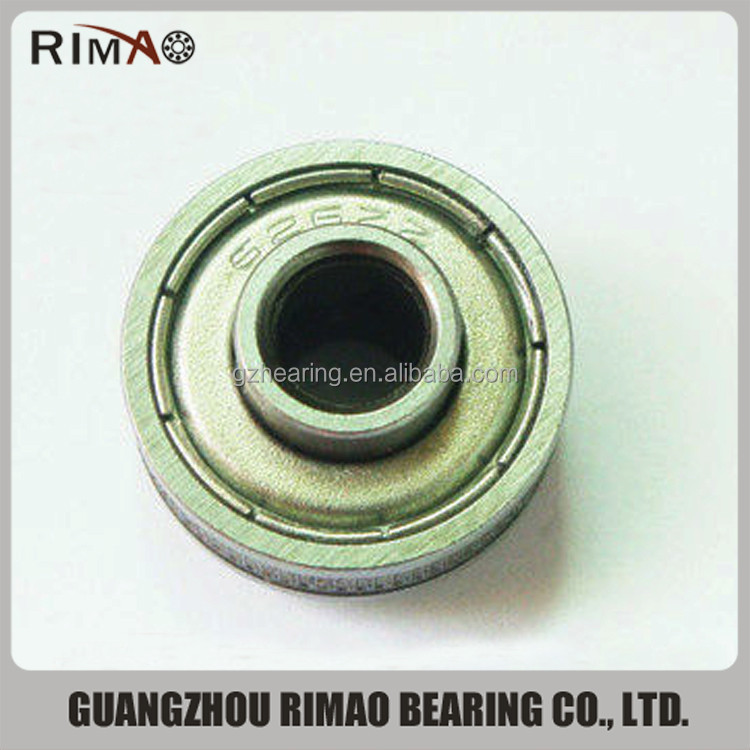 Guangzhou bearing 626zz non-standard 626zz ball bearing threaded shaft bearing