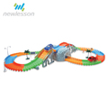 factory price good quality electric track toy ABS plastic car