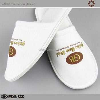 Good Quality Terry Towel Hotel Slipper, Customize slippers for 3-5 stars hotels