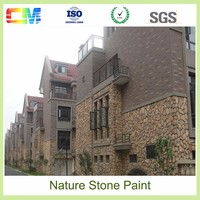 Texture paint for exterior and interior wall UV proof anti dust waterbased natural stone effect paintings