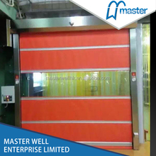 Iron High durable hot design high speed rolling up shutter door