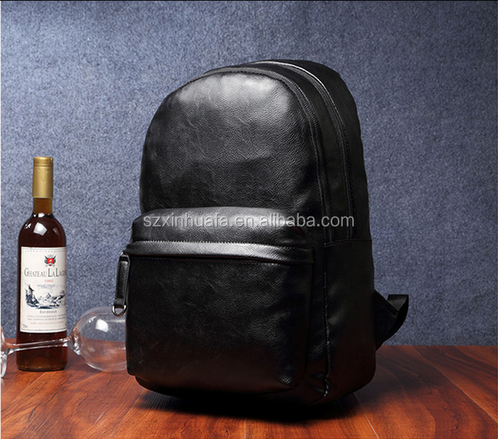 Wholesale Best Quality Men Leather Backpack