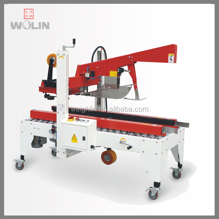 OEM customized secondary packaging line for carton auto loading opening filling sealing machine for food/non food project