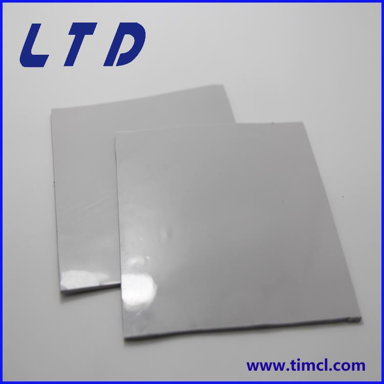 LED Lighting/Electronical Silicone Thermal Pad Thermal Conductivity 1.0~4.0W/M.<strong>K</strong> From 0.25~15MM