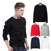 Wholesale Plain Hoodie Without Round Neck Blank Mens Hoodie With OEM Logo