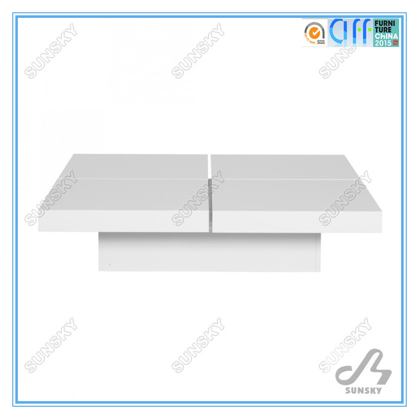 High Quality modern home furniture expanding storage coffee tableSK1303A