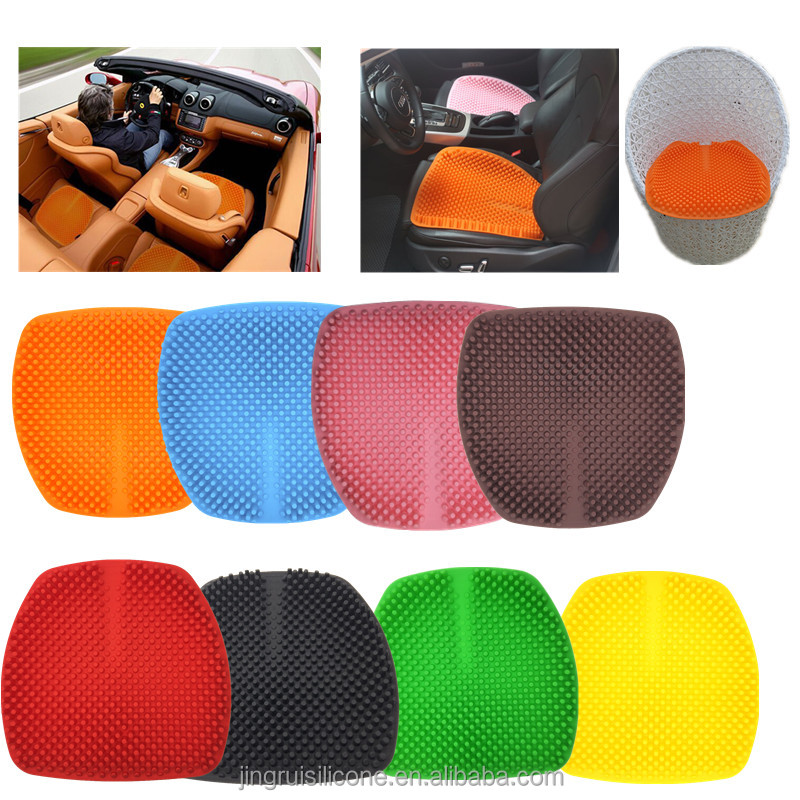 lastest design car and home seat massage cushion, home used seat and therapeutic car cushion made in china