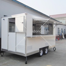 CE mobile coffee shop/outdoor fast food kiosk/container coffee shop design