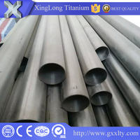 high quality Titanium Seamless or Welded Tube/Pipe for Chemical Use