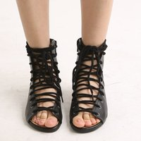 7009 lace up flat, flat shoes, lace up ankle boots