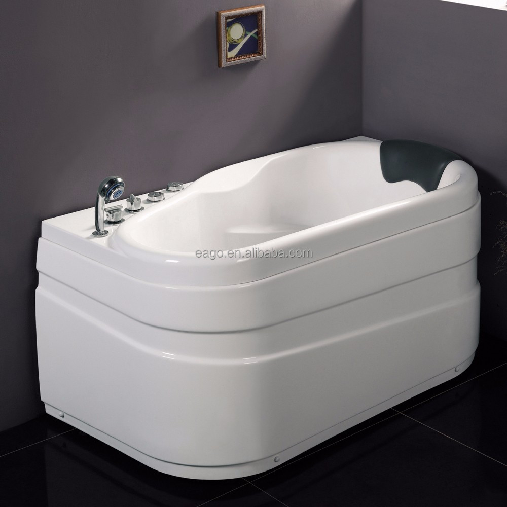 Home Use Small Corner Sitting Massage Bathtub (AM175)