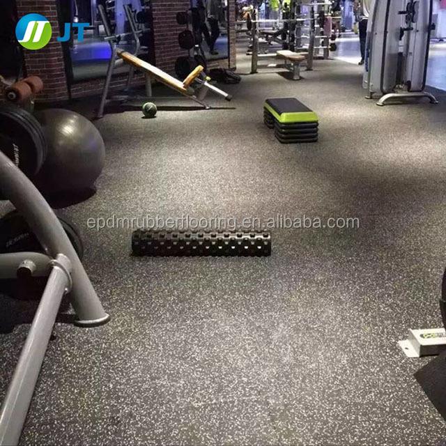 Shanghai gym rubber flooring aerobic exercise rubber roll epdm