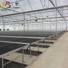 Agriculture greenhouse rolling bench cover plastic bench plate for sale
