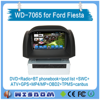 2016 new car gps dvd player for Ford Fiesta car dvd gps navigation with car radio wifi 3g bluetooth in reversing camera CE