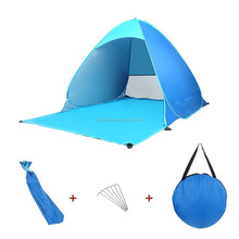 Camping Outdoor Tent Shelter Automatic Beach Anti-UV Fishing Ultra Light Umbrella Pop Up Tent