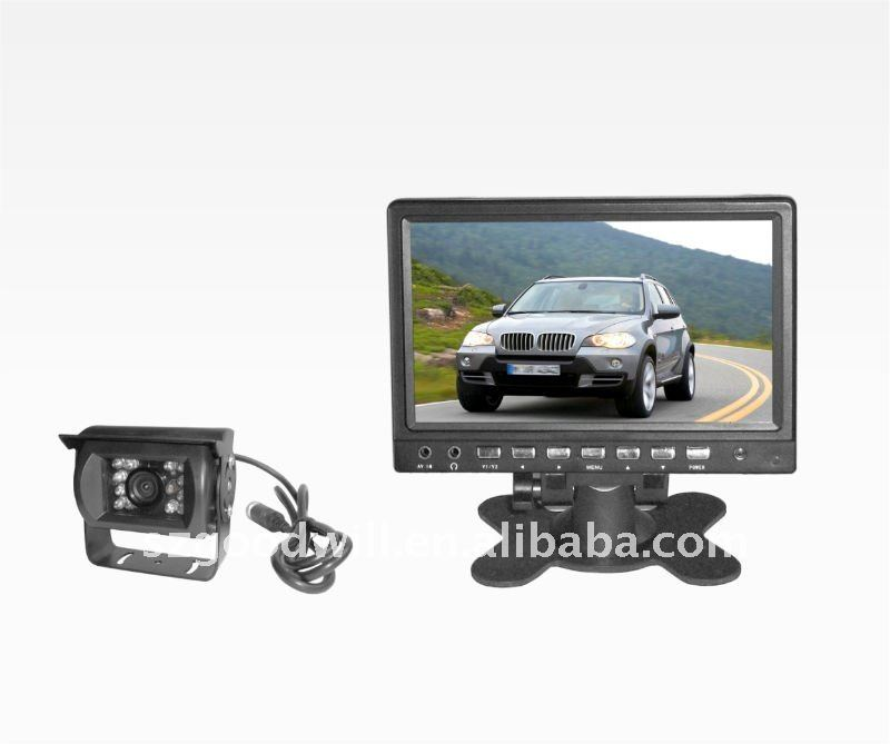 "7""headup display 2.4GHZ toyota car camera, night vision car kit"