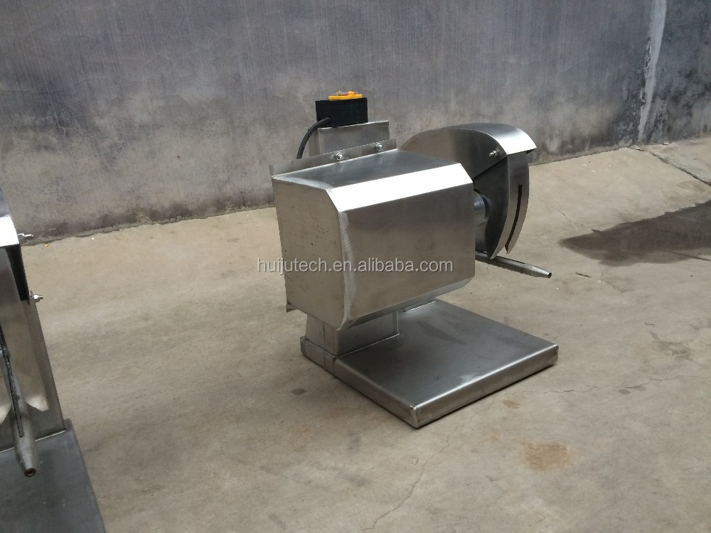 Automated electric meat grinder/chicken meat cutting machine HJ-CM018