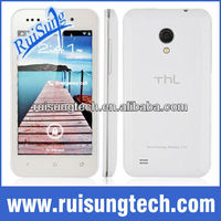"THL V12+ MTK6577 Dual Core Support Russian Android 4.0 os 4.0""IPS Multi-touch screen 512MB+4GB Unlocked 3G Cell phone"