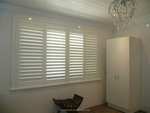 New Product Hot Quality Best Price Customized Stained Arch Window Covering Shutters