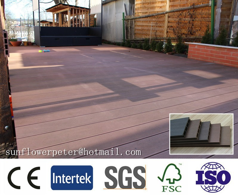 Hot sale wpc decking, replace hardwood, wpc flooring for outdoor, 139*23mm