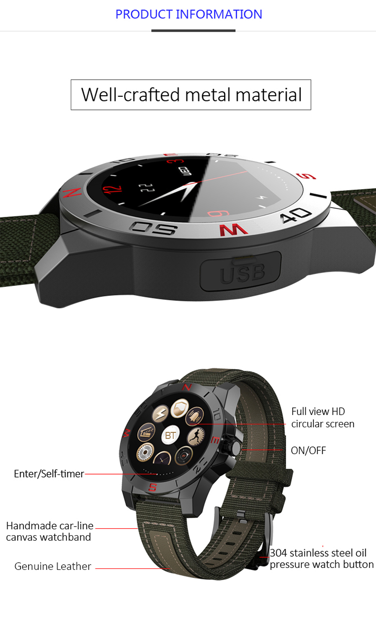 Digital outdoor sport watches for men military compass thermometer wristwatches