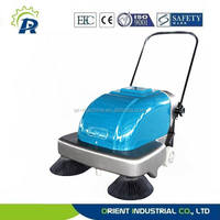 industrial electric sweeper, vacuum floor cleaner, supermarket cleaning equipment