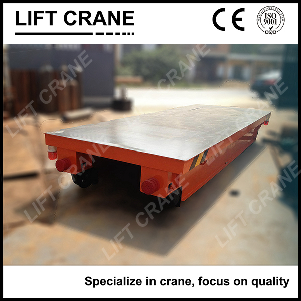 Contact Supplier Chat Now! Heavy Duty Tuged Transfer Cart On Rail Transfer Trolley