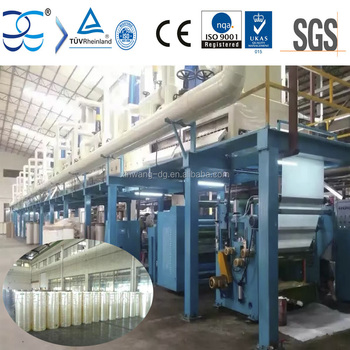 Low Power Consumption BOPP Adhesive Tape Jumbo Roll Coating Line