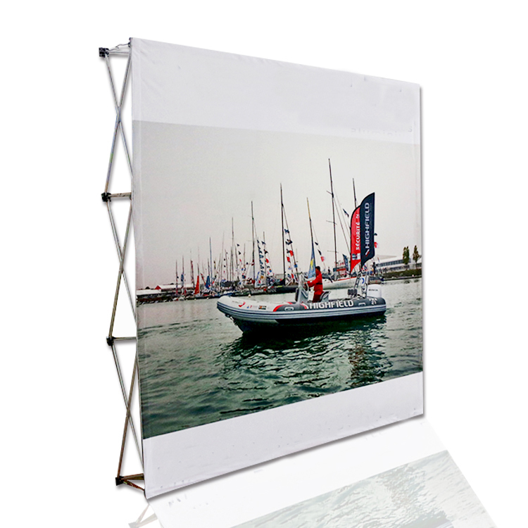 3*3 Aluminum Frame Tension Fabric Display pop up backdrop stand forTrade <strong>Show</strong>
