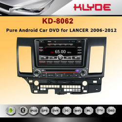 mitsubishi lancer car dvd with GPS navigation