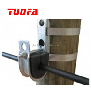 Electric Power Fittings ADSS OPGW Fiber Cable J hook Suspension Clamp/ Overhead Cable Clamp For Cable Hardware