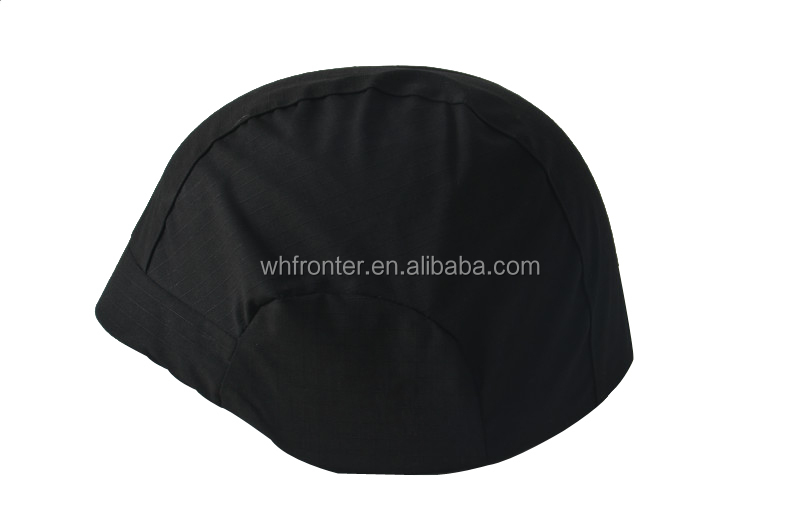 Factory price Black tactical helmet cover fabric helmet cover