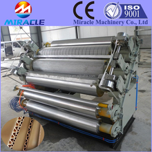 Paperboard corrugated machine, factory direct sell cardboard single facer corrugated machine